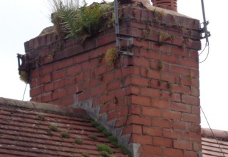 Mortar missing from your chimney ?